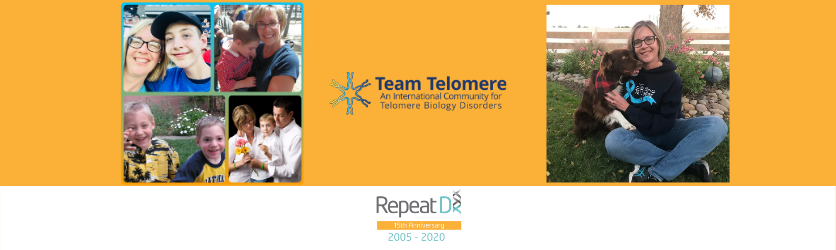 Team Telomere President, Colleen, shares her story