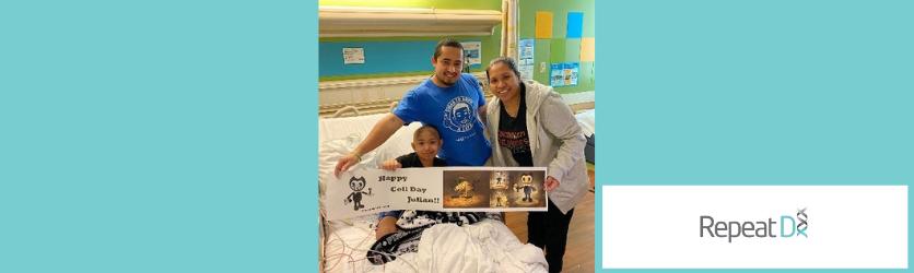 Julian's story of 4 stem cell transplants